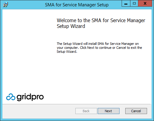 SMA for Service Manager - Deployment Guide – Gridpro Help Center